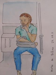 metro de Bilbao agosto 11