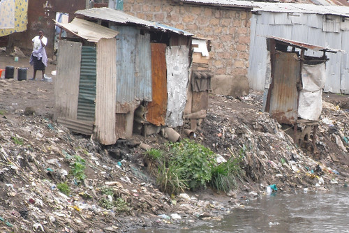 Toilets in Kibera