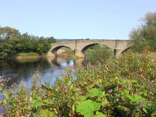 Ribchester Bridge (Over the River Ribbble) near to Ribchester, Lancashire