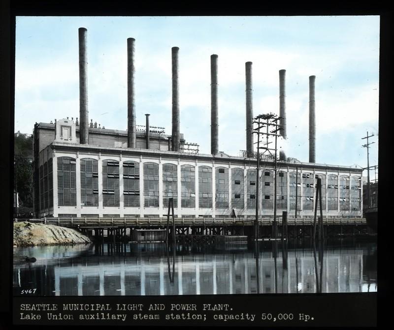 Lake Union steam plant, circa 1930s