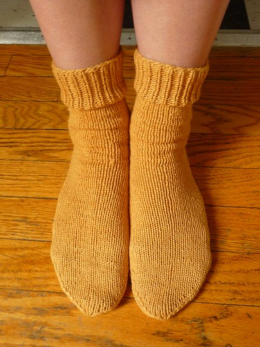 Finished Knit: No Sweat Socks