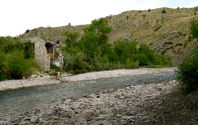 Dearborn River Stone House Montana Flickr Photo Sharing