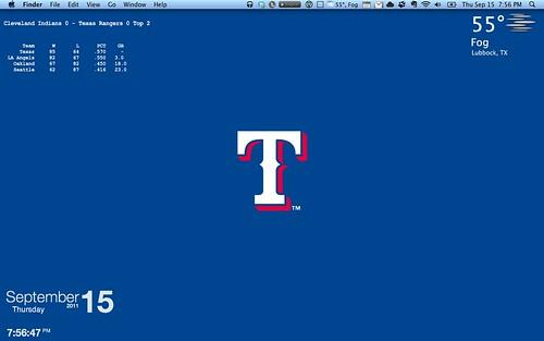 New desktop with new Geeklets