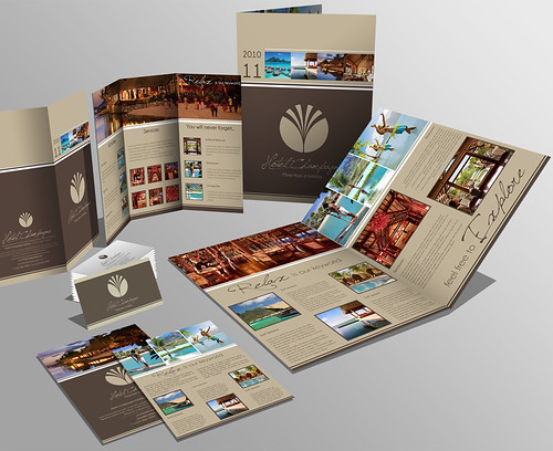 Set Brochure Trifold