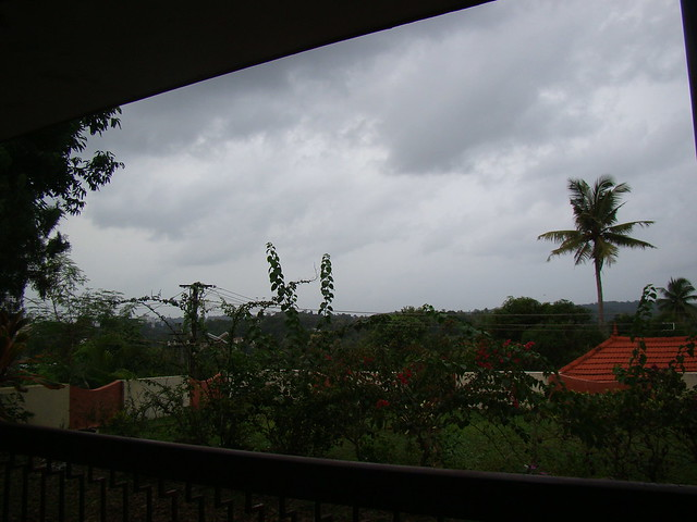 View of the  Rain clouds- My home