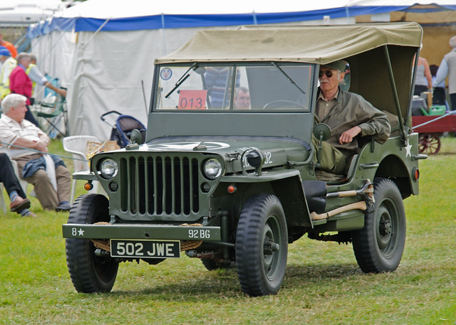 1942 GPW Ford Military Jeep http://www.flickr.com/photos/david_cronin/6021967221/