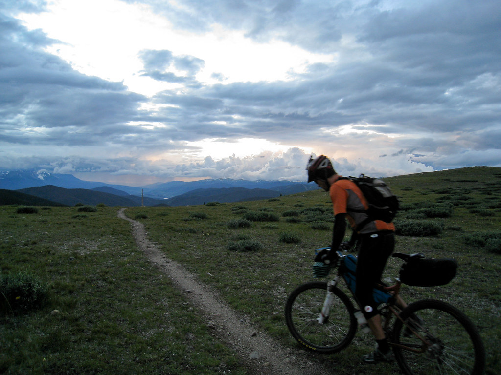Tim Halbakken at Georgia Pass