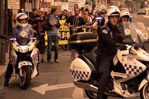 Manifestación 11 J by Carlos Regalado