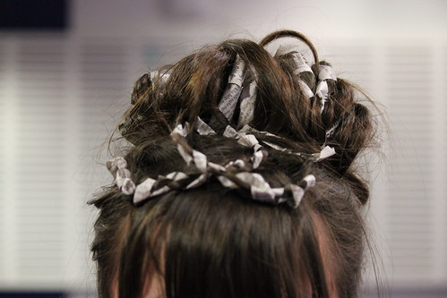 Newspaper Hair 1