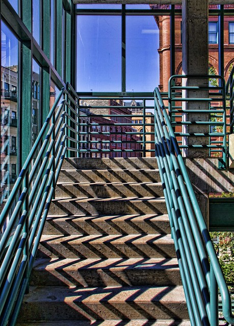 Historic Third Ward Milwaukee Wisconsin - A different perspective