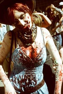 Zombie woman.