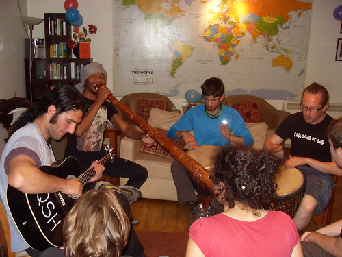 Hostels and couch surfing give you the chance to meet and connect with people.
