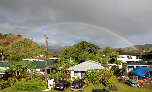 View from our balcony, Hanalei