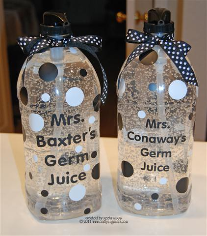 Teacher Gifts - Germ Juice