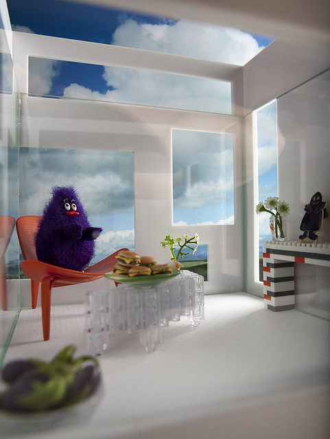 Grimace at home
