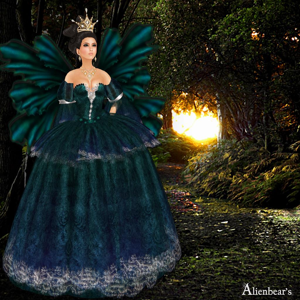 Queen Maraget green model
