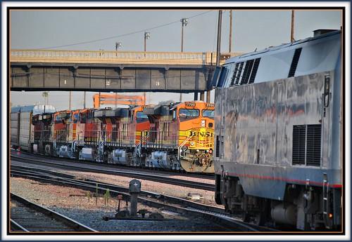 california railroad travel sunrise amtrak bnsf sanbernardino southwestchief