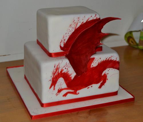 cakebot red dragon. Black Bedroom Furniture Sets. Home Design Ideas