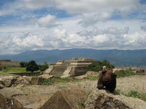 Monte Alban in Mexico