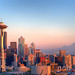 Seattle Skyline - 1 by baldheretic