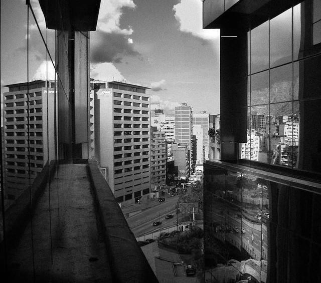 Caracas b&W