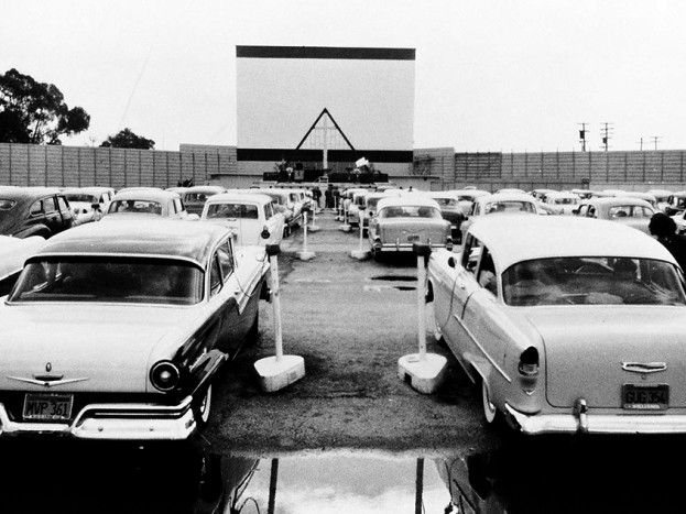 Car Dealerships In Fresno Ca >> Drive-in theatre, circa 1957 | Flickr - Photo Sharing!