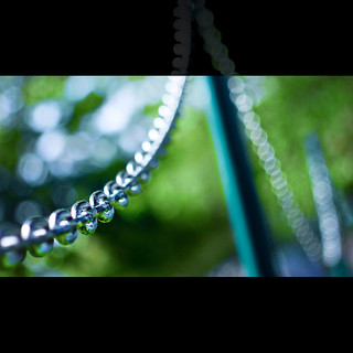 chain of bokeh
