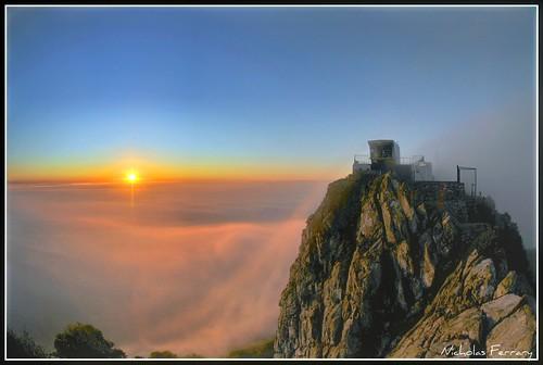 sun nature clouds sunrise nikon gibraltar d300s nikond300s nicholasferrary