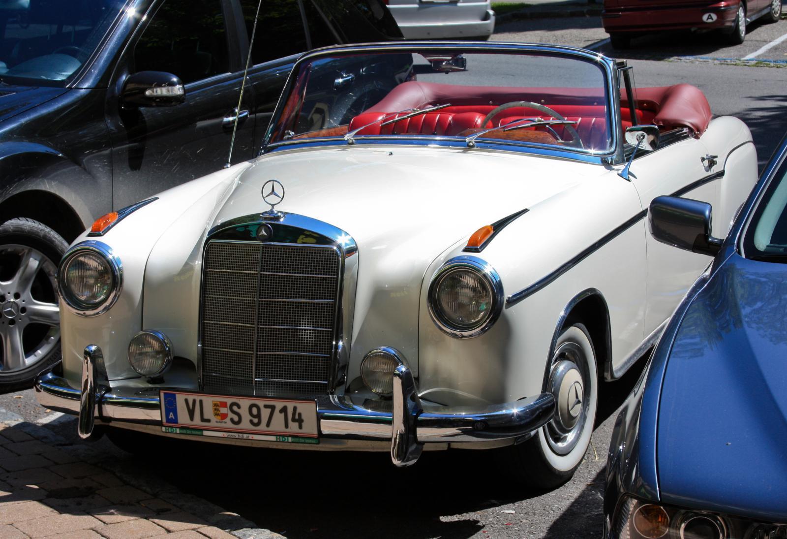 Un mercedes benz deportivo en spittal an der drau for Mercedes benz deportivo