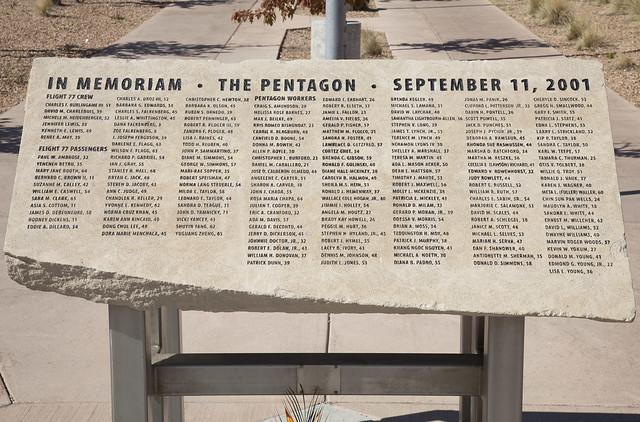 9 11 Pentagon Memorial Los Alamos National Laboratory