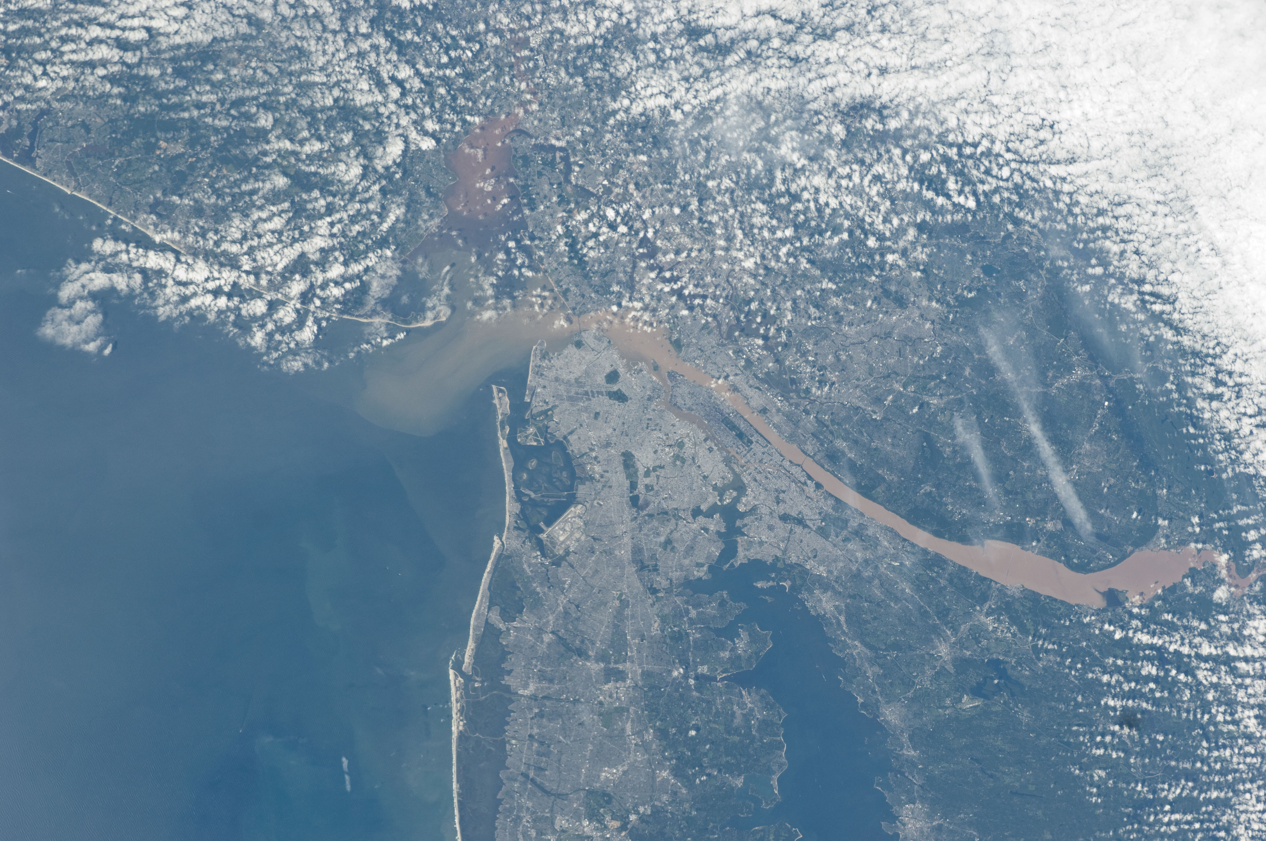 New York City (NASA, International Space Station, 09/09/11 ...