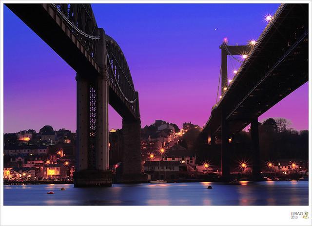 Two bridges   Plymouth