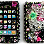 hello kitty black & pink