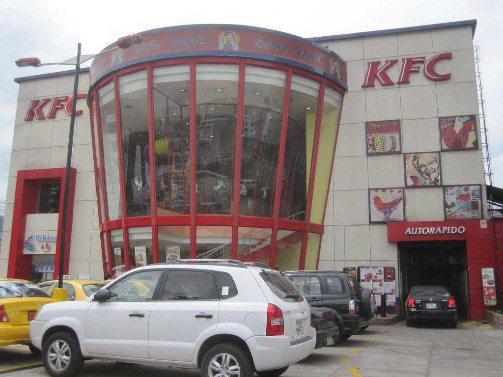 Quito Ecuador KFC Chicky Park