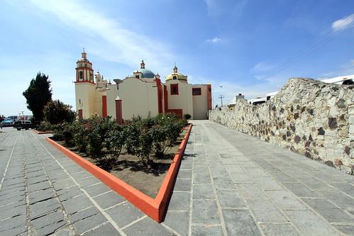 San Miguel Tianguinahuatl - Cholula - founded 1520