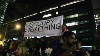 Occupied everything