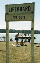 Day 237/365 - No Swimming