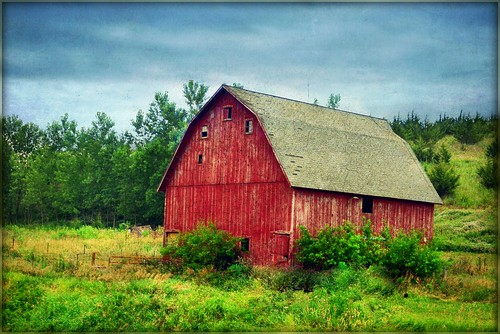 Red Barn, Woodbury County, Iowa