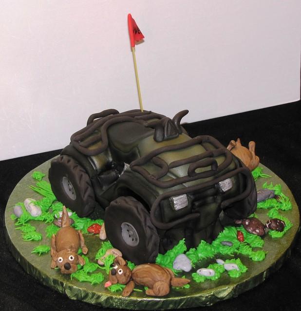 four wheeler cakes