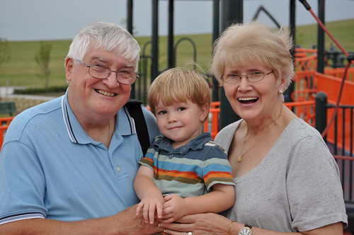 Granddad, Ian and Nana