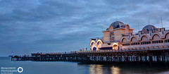 208/365 Southsea Pier Blue Hour