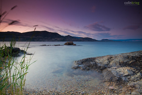 park longexposure sunset mountain lake beach water canon okanagan 7d kelowna peachland sigma1020