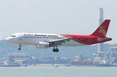 Shenzhen Airlines Airbus A320-214; B-6316@HKG;31.07.2011/614qa