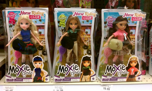 New Moxie Girlz: Horse Riding Club Dolls