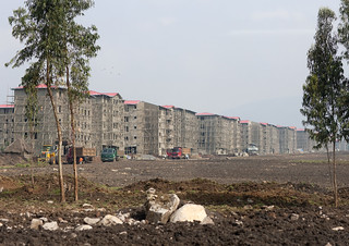 New suburbs in Addis Ababa - Ethiopia