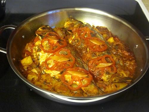 64 sq ft kitchen algerian baked fish for Algerien cuisine