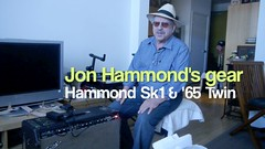 Jon's First Hi-Def Video Test with Hammond Sk1 Organ DMC-G3 LUMIX