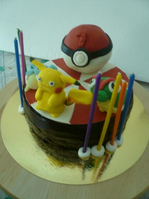 gen 1 pokemon fondant cakes