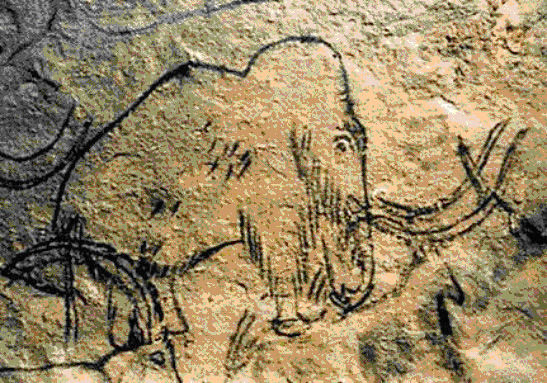 Rouffignac mammoth-cave-painting - а са изчезнали напълно преди 8 000 г прне
