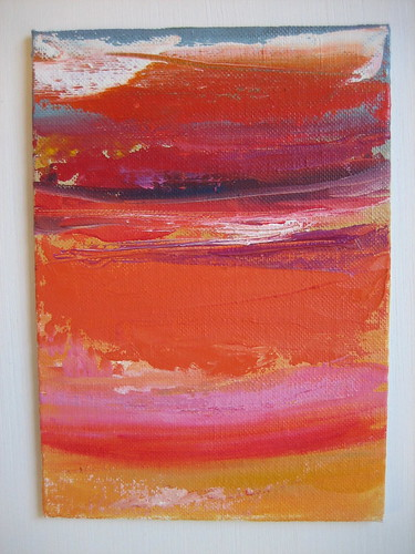 #28 Hot Pink + Orange Sunset